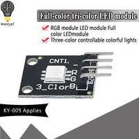 Módulo LED RGB KY-009 SMD 5050 PWM, luz de 3 colores para Arduino, MCU, Raspberry CF Board, tres colores principales, 1 Uds.