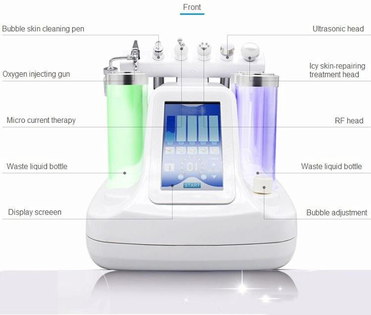 10 In 1 Water Oxygen Jet Skin Care Enhanced Acne Treatment Facial Rejuvenation Machine Fast Delivery