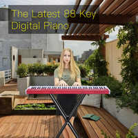 high quality 88 key professional usb MIDI digital electronic Controller keyboard piano for musical biginner band learning piano