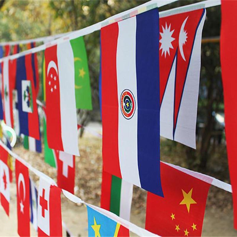 Euro 2016 European Championship Bunting Various Sizes Flags Football Flags
