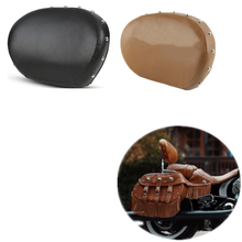 Motorcycle Rear Passenger Backrest Sissy Bar Pad For Indian Chief Classic Dark Horse 2014-2020 Black/Desert Tan color
