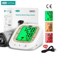 Cofoe tansiyon aleti UpperArm/bilek kan basıncı monitörü BP kalp hızı ölçümü/aritmi dedektörü kişisel ev sağlık
