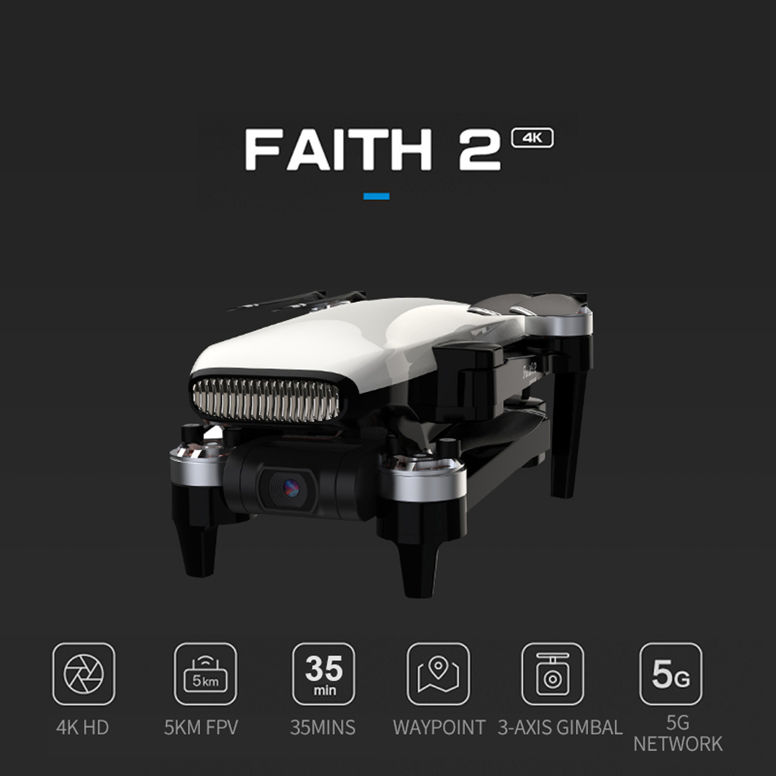 Fpv Drone Camera Stable-Gimbal 5g Wifi 4k with Hd 3-axis/Stable-gimbal/35-mins/.. Gps