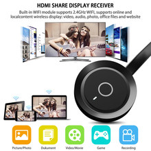 For G17 TV Same Screen With WIFI Portable Display Receiver 1080P HDMI Miracast Dongle For IOS IPhone IPad Android Smartphones(China)