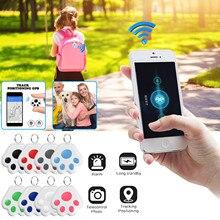 GPS Pet Cat Dog Position Mini Antilost Waterproof Bluetooth Locator Accessories Wireless Positioning Wallet Pet Key Accessories