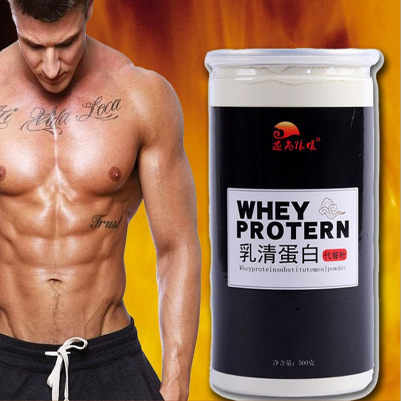 Whey protein powder instead of meal powder 500g image