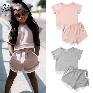 Hot Sale Brand Boys Clothing Children Spring Girls Clothes Striped Long Sleeve Kids Boy Clothing Set T-shit+Pants roupa infantil(China)