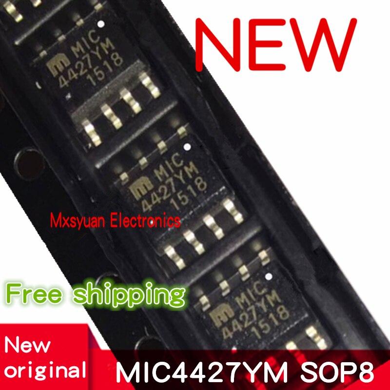 50 ~ 100 шт. MIC4427 MIC4427YM MIC4427YM-TR лапками углублением SOP-8 новые имеющиеся в наличии на руку