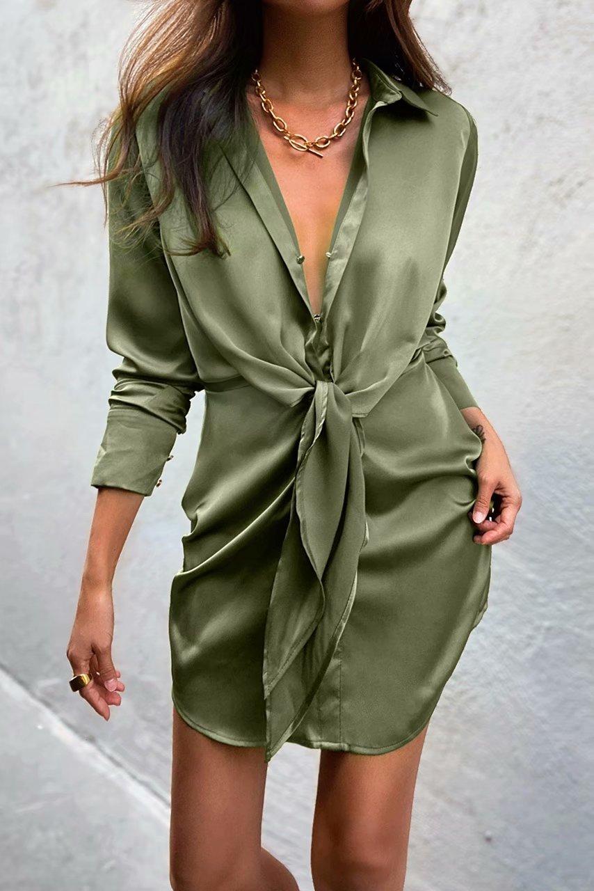 Mini dress summer long sleeves 5