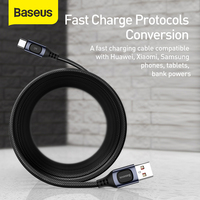 Baseus USB Type C Cable 5A PD Fast Charging Cable for Samsung Huawei Redmi Cable USB C Cable for Xiaomi iPad Pro Type C Cable