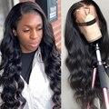 30 дюймовый парик с кружевной передней частью, предварительно выщипанный 13X4 передний парик с кружевом, глубокие свободные волнистые человеч...
