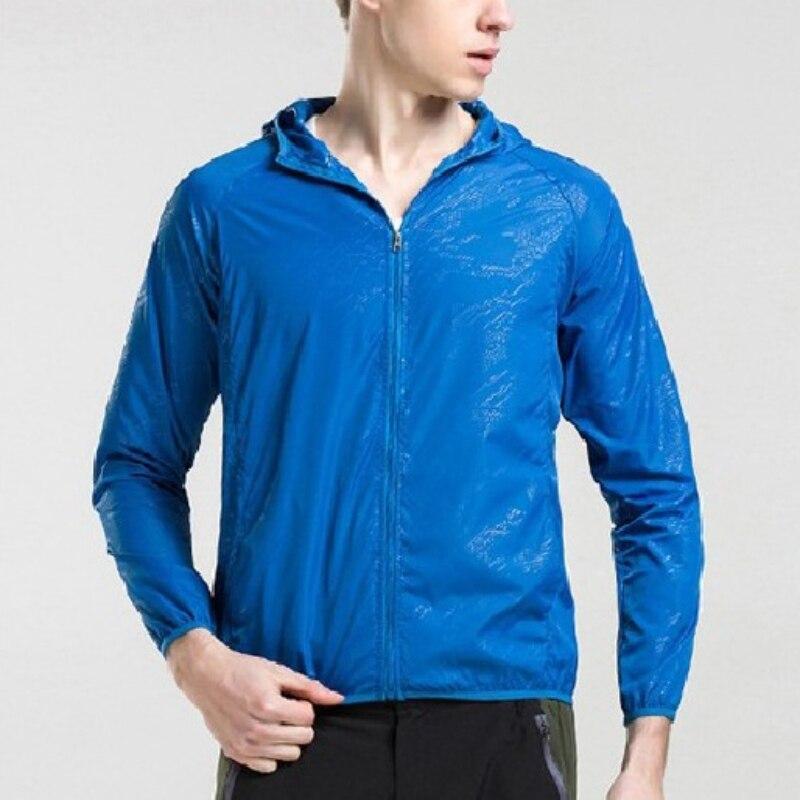 יוניסקס מהיר יבש טיולים מעילי שמש-מגן עמיד למים עמיד חיצוני ספורט מעילי עור זכר נקבה מעיל רוח