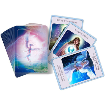 44pcs Loves Light Divine Guidance Tarot Deck English Oracle Card Table Deck Games Party Playing Card Oracle Board Game недорого