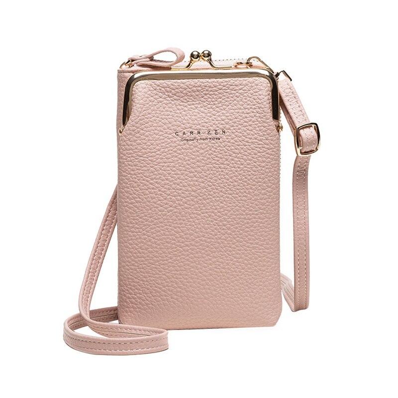 Новые женские длинные кошельки, клатч, Дамский кошелек, карман для телефона на молнии, держатель для карт, женская сумка на плечо высокого ка...