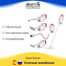 Deerma – balai à vapeur électrique pour le nettoyage des sols, ensemble gratuit, ZQ600, ZQ610