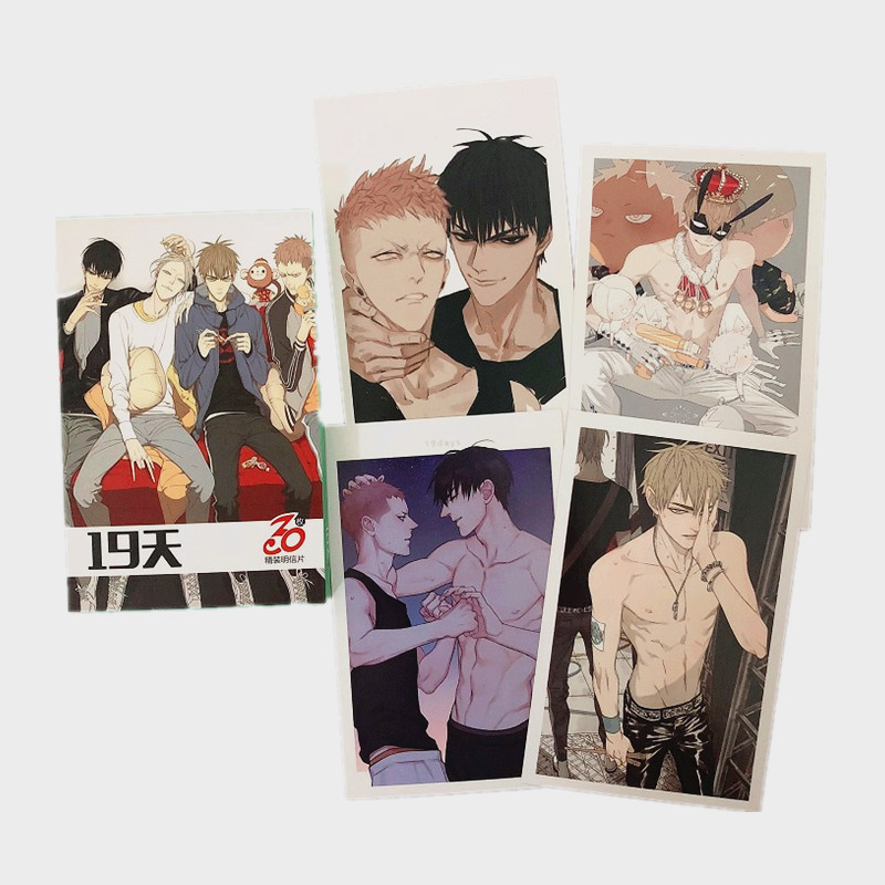 30 Sheets/Set Anime Old Xian 19 Days Paper Postcard Collection Card Greeting Card Birthday Letter Gift Card