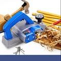Электрический строгальный бытовой многофункциональный и мощный портативный деревообрабатывающий Электрический инструмент алюминиевый с...