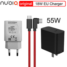 55W Charger Cable Magic Phone-Max Original Nubia ZTE 18W PD 65W for Red 5G Output-65w