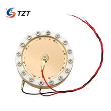 TZT 34 мм Капсула большая мембранная конденсаторная микрофонная капсула двухсторонняя позолоченная для записи студии Micphone