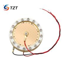 TZT 34mm Capsule Large Diaphragm Condenser Mic Capsule Double Sided Gold Plated for Recording Studio Micphone