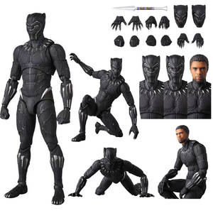 Mafex Black Panther 091 Avengers Endgame 4 Infinity War PVC Action Figure Model Toy Children Gifts