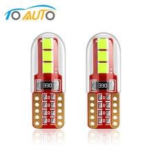 2 pçs t10 w5w 194 168 lâmpadas led canbus livre de erros luzes do instrumento automático porta lâmpada de leitura folga placa licença lights12v