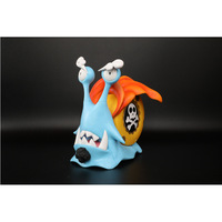 One Piece Luffy White Beard Jinhei Large Version of Phone Worm Props Boxed Garage Kit Model Ornaments