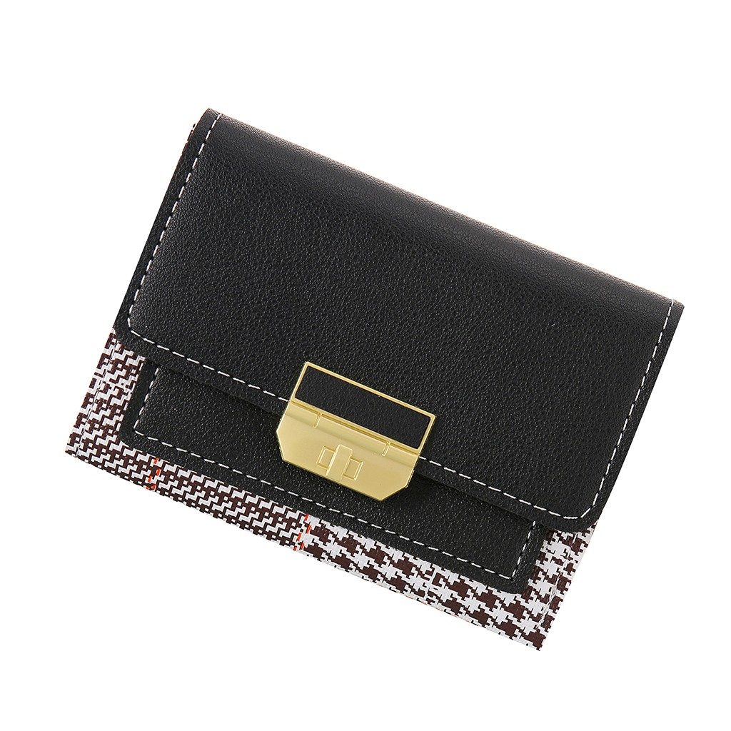 Women's Wallet 2020 Fashion Ladies Handbags Multi-layer Compartment Coin Purse Simple Purse Cards HolderWallets TotesBags