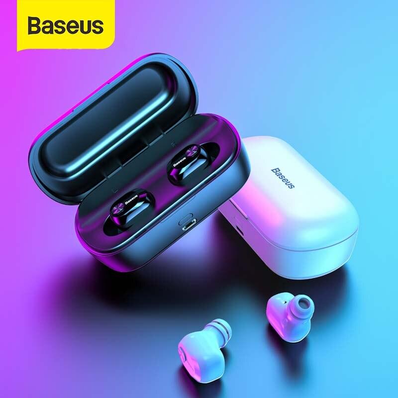 Baseus TWS Bluetooth Earphone Headset 3D Stereo Wireless Headphone Sport Bluetooth Earphone with HD Mic for Phone Fone De Ouvido|Phone Earphones & Headphones|   - AliExpress