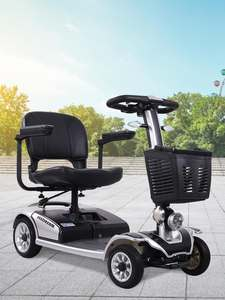 2020 new intelligent elderly scooter four-wheeled battery car for the disabled elderly