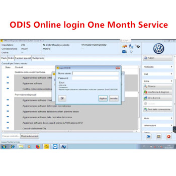 Odis vas5054a online account odis6154 software engineering VAS Diagnostic VAS5054A VAS6154 remote login one time/monthly service недорого