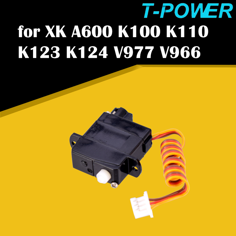 1.9g Servo for Wltoys XK A600 K100 K123 K124 V977 V966 RC Airplane Drone RC Toys