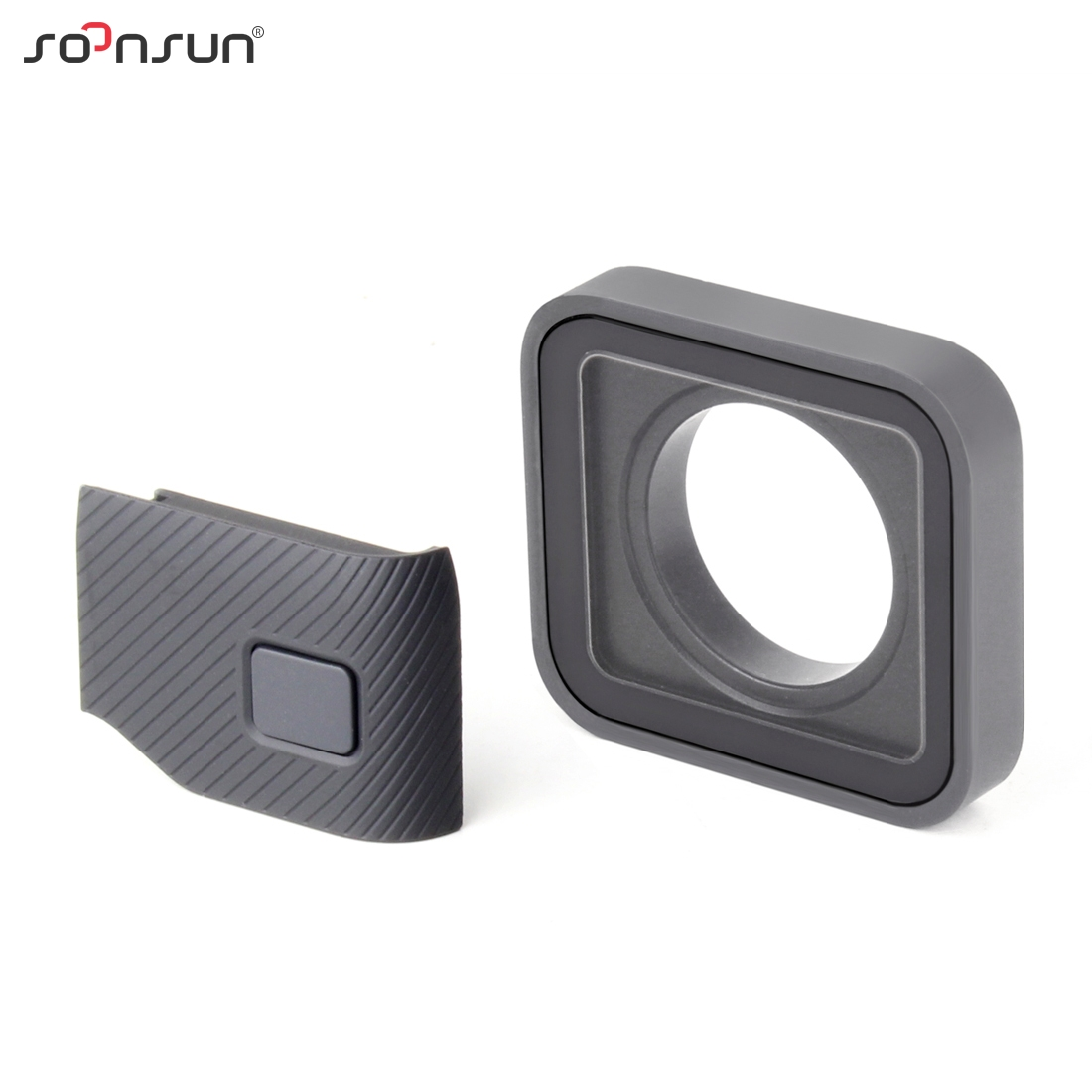 SOONSUN Protective Lens Replacement Side Door Repair Parts USB C Mini HDMI Port Side Cover for GoPro HERO 7 6 5 Black CameraSports Camcorder Cases   -