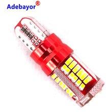 Luces LED de posición trasera para coche, Bombilla T10 57 SMD 100, W5W, 3014, 192, 194, 57SMD, 12V, 2825 Uds.