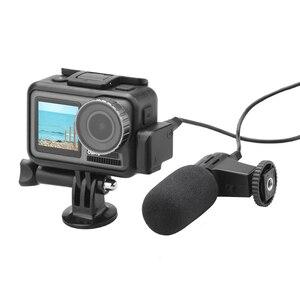 3,5 мм/Type-C адаптер аудио внешний микрофон крепление повышение качества звука для DJI OSMO Action SP99