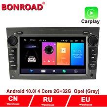 Bonroad 2DIN Android 10.0Car multimedia player For Opel Astra/Vectra/Antara/Zafira/Corsa Radio GPS Navigation RAM2G (no dvd)