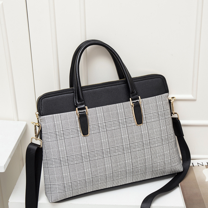 Women Leather Business Briefcase Bag Of 2020 13.3 14