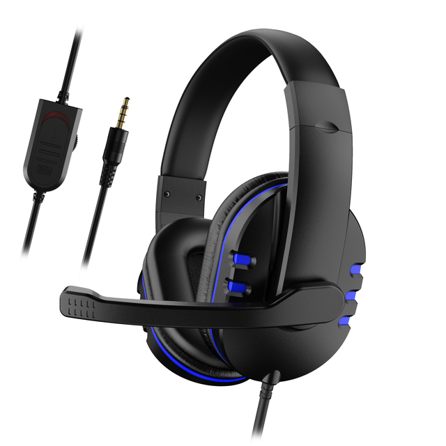 3.5mm Wired Gaming Headset Deep Bass Game Earphone Computer Headset Gamer Headphones With HD Microphone наушники игровые 3