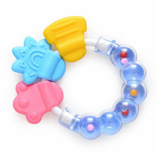 Educational Toys Infant Toy 1 PC Cartoon Baby Rattle Teether For 0-12 Month Newborn development