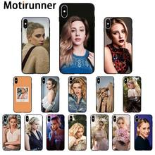 Motirunner Lili Reinhart Riverdale High Quality Silicone Phone Case for iPhone 11 pro XS MAX 8 7 6 6S Plus X 5 5S SE XR case(China)