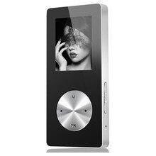Беспроводной Bluetooth Hi Fi HD MP4 плеер 1,8 дюйма, стереонаушники с микрофоном и без потерь, USB кабель для быстрой зарядки, динамик с FM записью и слотом для TF карты