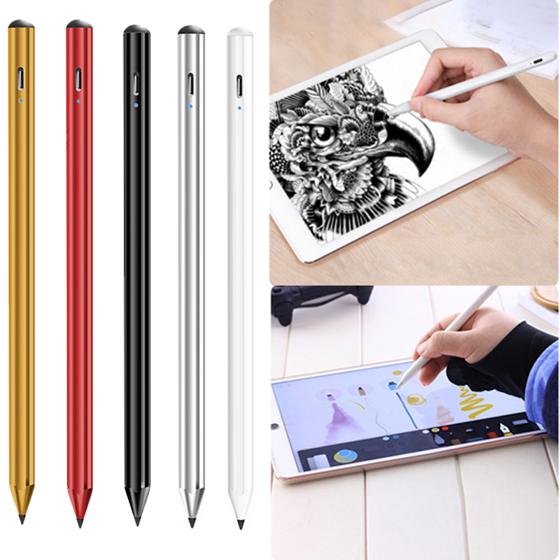 For IPad Pencil Apple Pen Stylus For IPad 9.7 2018 Pro 11 12.9 2018 Air 3 10.5 2019 10.2 Mini 5 Touch Pen For Apple Pencil 2 1