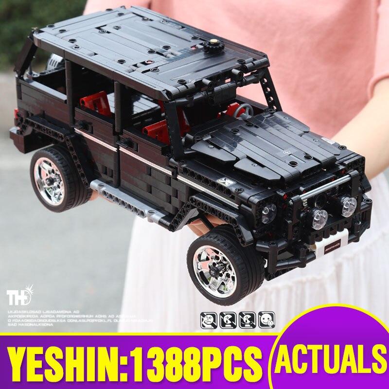 Yeshin 701960 Off road SUV Car Compatible with G500 Car Model Building Blocks Bricks Assembly Kits
