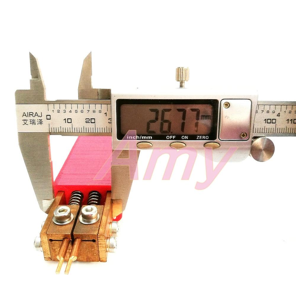 Hand-Punktschwei/ßger/ät integriertes Punktschwei/ßschwei/ßwerkzeug Industrielles Punktschwei/ßen zur Verwendung beim Zusammenbau von Batteriepacks nach Hause DIY-Punktschwei/ßmaschine
