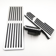 Car Pedals for BMW X3 G01 X4 G02 2018-2020 AT Accelerator Brake Foot Rest Pedal Pads Car Styling Accessories car styling refit accelerator oil footrest pedal plate clutch throttle brake treadle for bmw 5 5gt 6 7 series x3 x4 x5 x6 z4 lhd