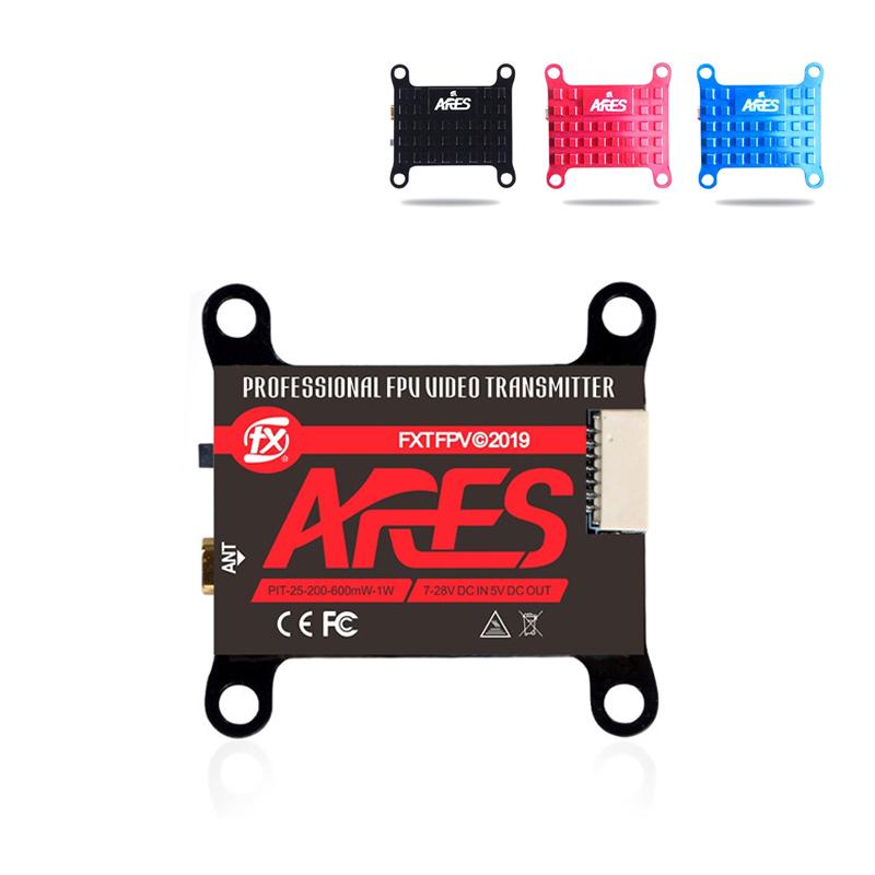 FXT FX893T ARES 5.8GHz PIT/25mw/200mw/600mw/1W VTX w/ Smart Audio FPV Video MMCX VTX Transmitter for RC Racing Drone