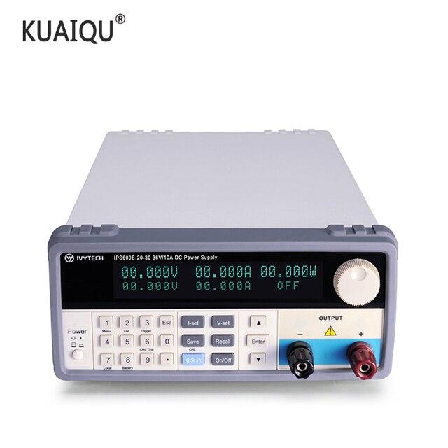 Lab Schakelende Voeding DC Voeding Programmeerbare Spanningsregeling Huidige Passen 20V 30V 60V 10A 20A 30A IPS600B
