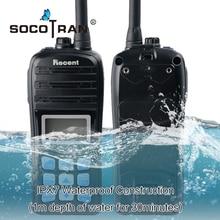 Impermeabile IP67 VHF Prosciutto Walkie Talkie Palmare Marine Two Way Radio Display LCD A Doppia Scansione Automatica Galleggiante Mare Radio Interphone RS 35M