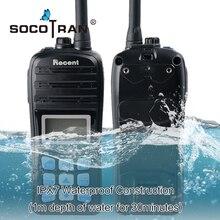 Wodoodporny IP67 VHF Ham Walkie Talkie ręczny radiotelefon morski dwukierunkowy wyświetlacz LCD podwójne automatyczne skanowanie Float Radio morskie domofon RS 35M