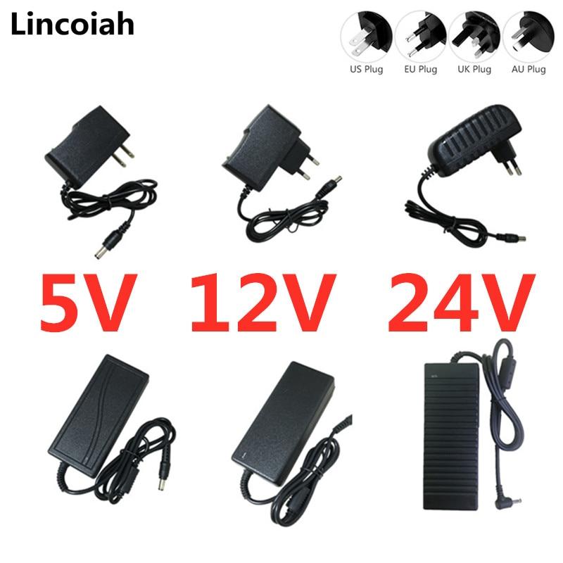 Adaptador de transformador de 5V, 12V, 24 V, 1A, 2A, 3A, 5A, 6A, 8A, 10A, 5, 12 y 24 V, adaptador para iluminación, tira de luces Led, cámara CCTV|Adaptadores CA/CC| - AliExpress
